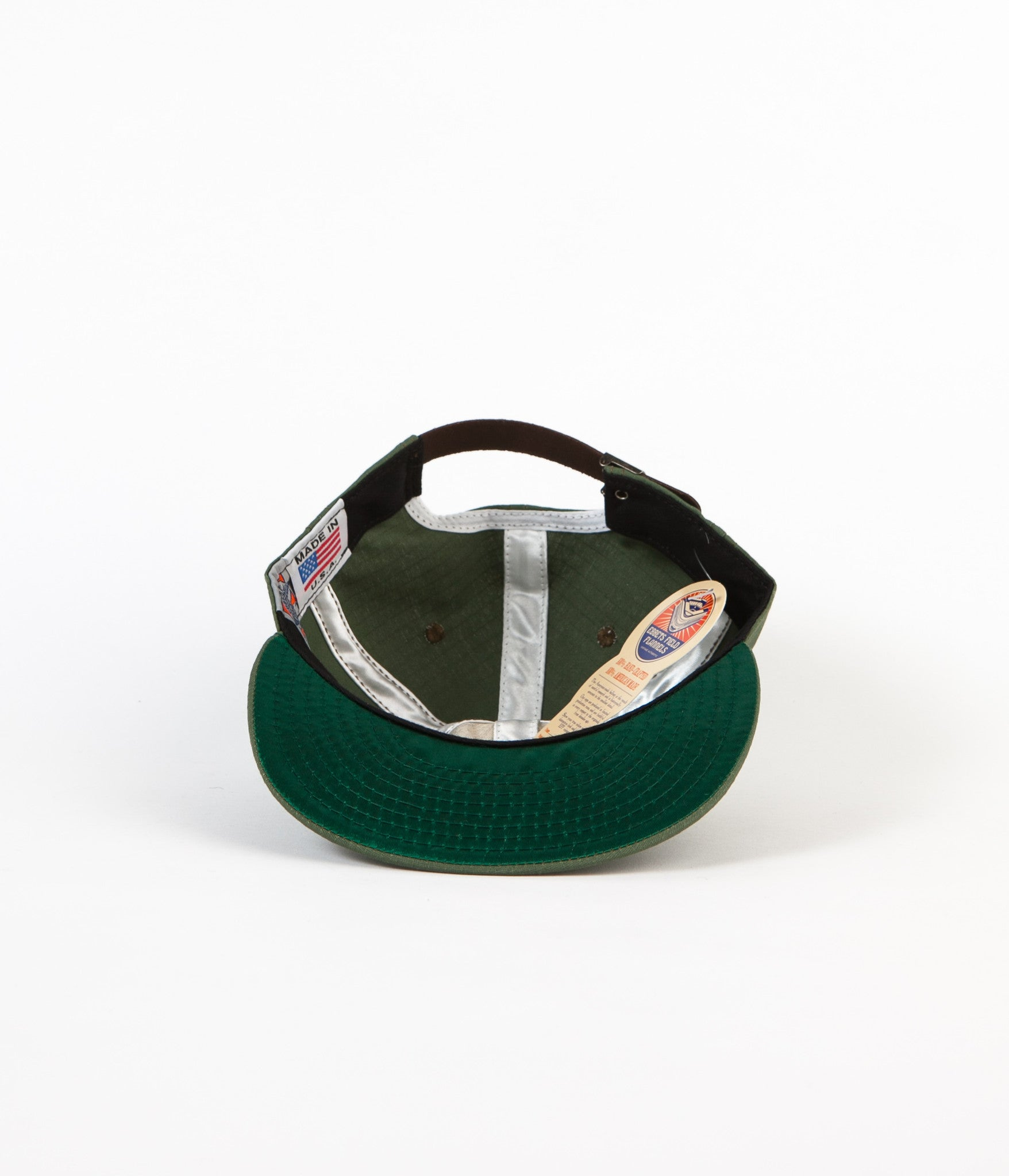 Ebbets Field Flannels Rip Stop Cap - Olive Drab