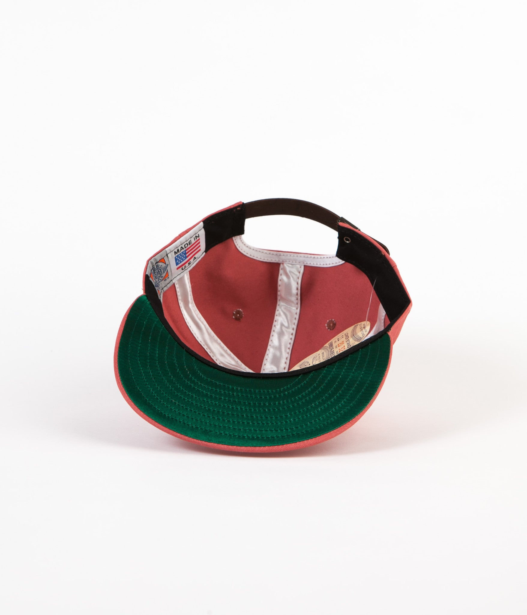 Ebbets Field Flannels Surf Riders 6 Panel Cap - Nautical Red