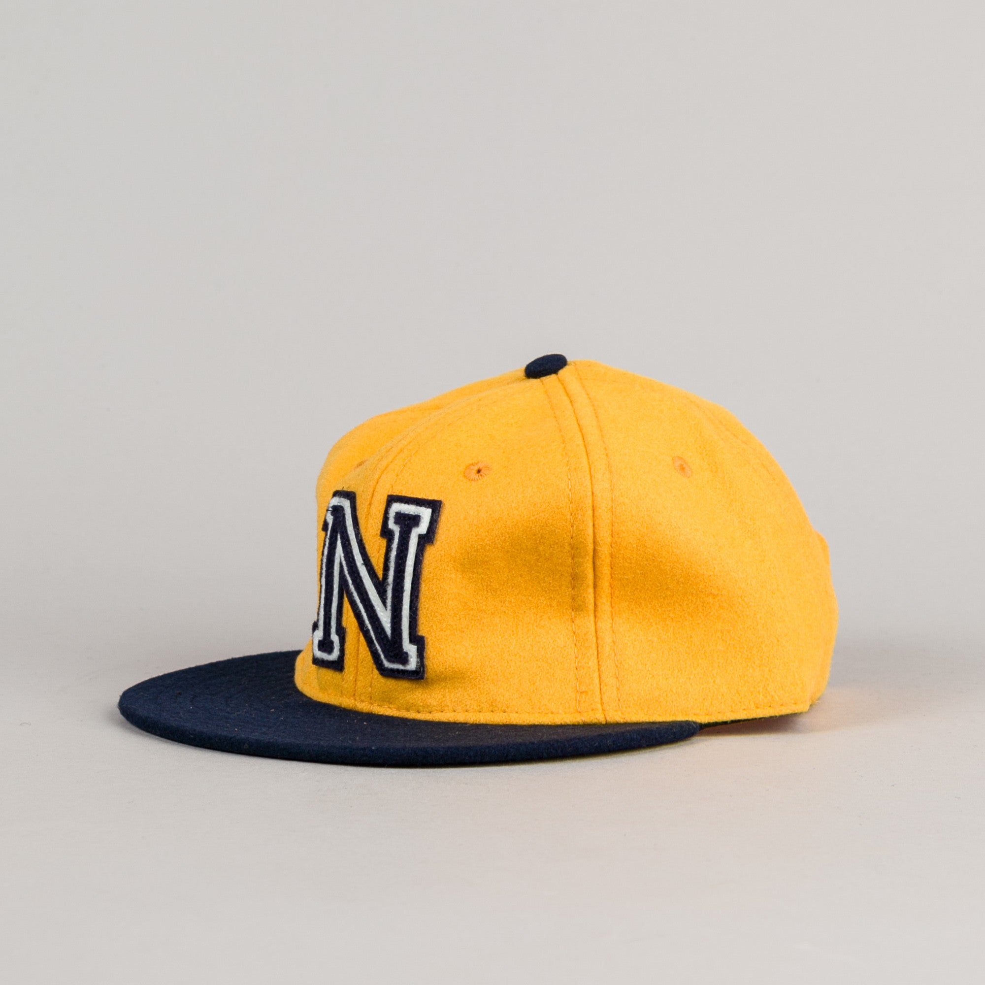 Ebbets Field Flannels US Naval Academy 1959 Cap - Yellow / Navy