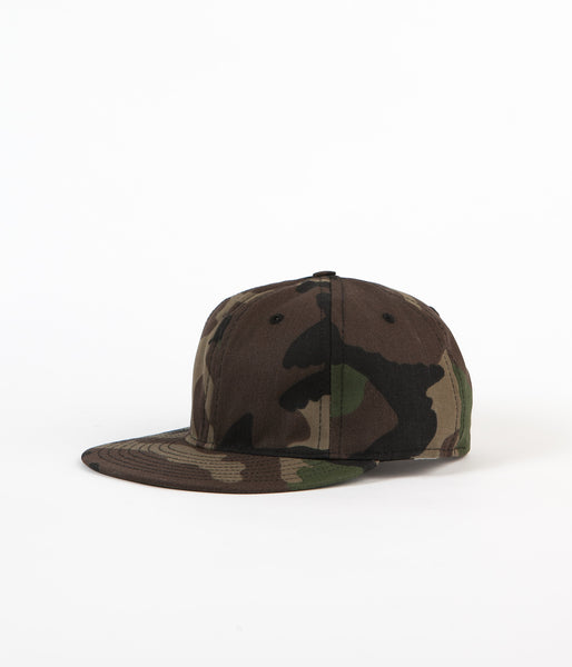 Ebbets Field Flannels US Woodland 6 Panel Cap - Camo
