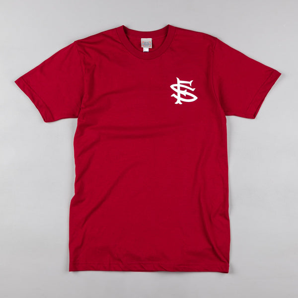 Ebbets Field Flannels San Francisco Seals T-Shirt - Burgundy