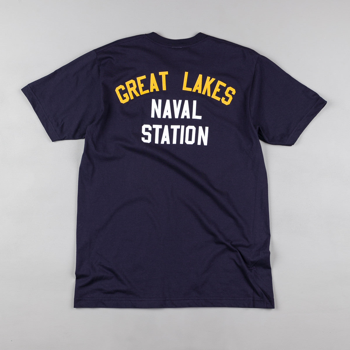 Ebbets Field Flannels Great Lakes T-Shirt - Navy