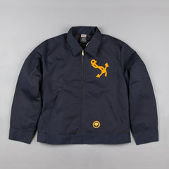 Ebbets Field Flannels Great Lakes Grounds Crew Jacket - Navy