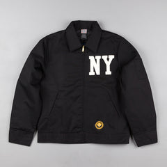 Ebbets Field Flannels New York Yankees Grounds Crew Jacket - Black