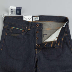 Edwin ED-80 Rainbow Selvage Jeans Blue Unwashed