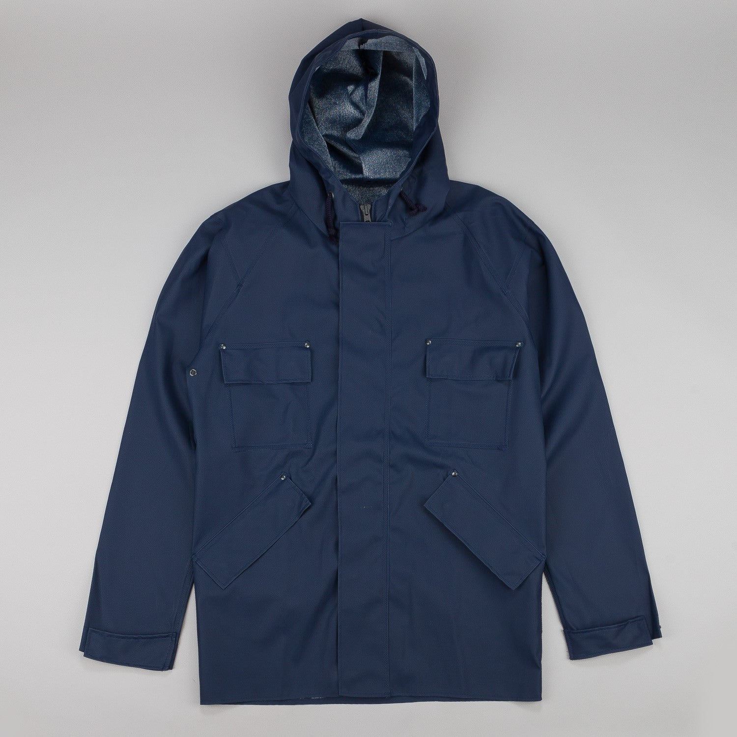 Elka Artisan Greencoat Jacket Navy