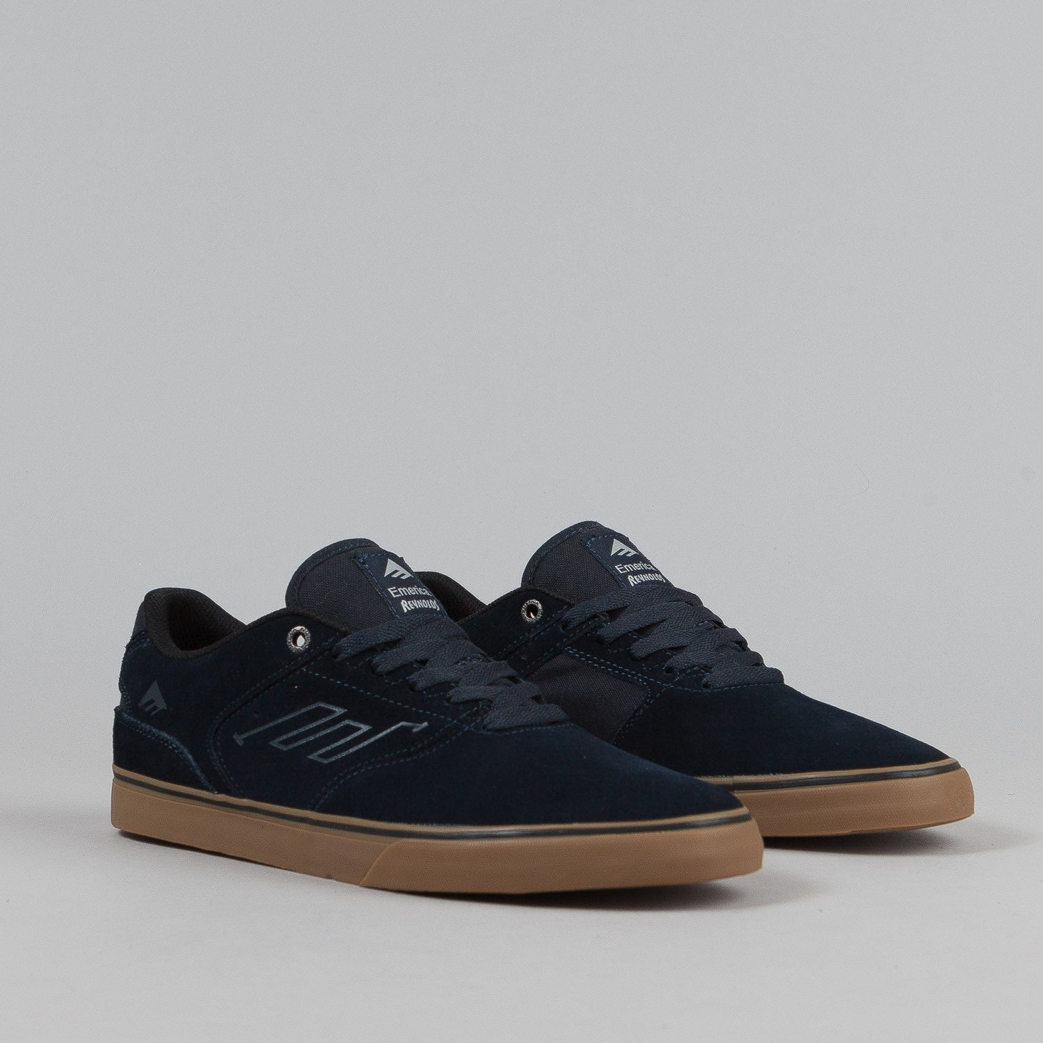 Emerica The Reynolds Low Vulc Shoes - Navy / Gum