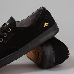 Emerica The Romero Laced X Stay Flared Shoes - Black / Black