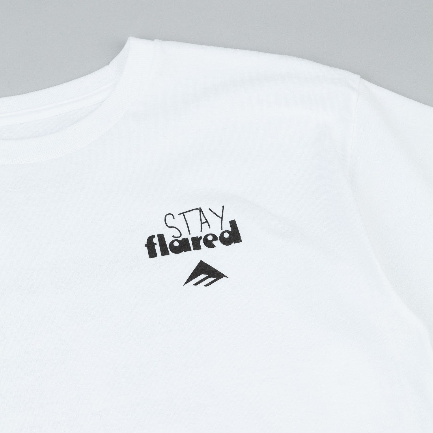 Emerica X Stay Flared T-Shirt - White