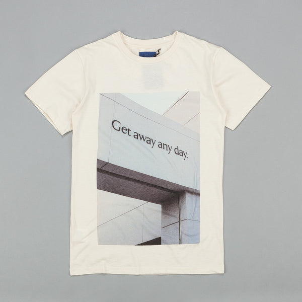 Etudes Get Away Any Day T Shirt Off White