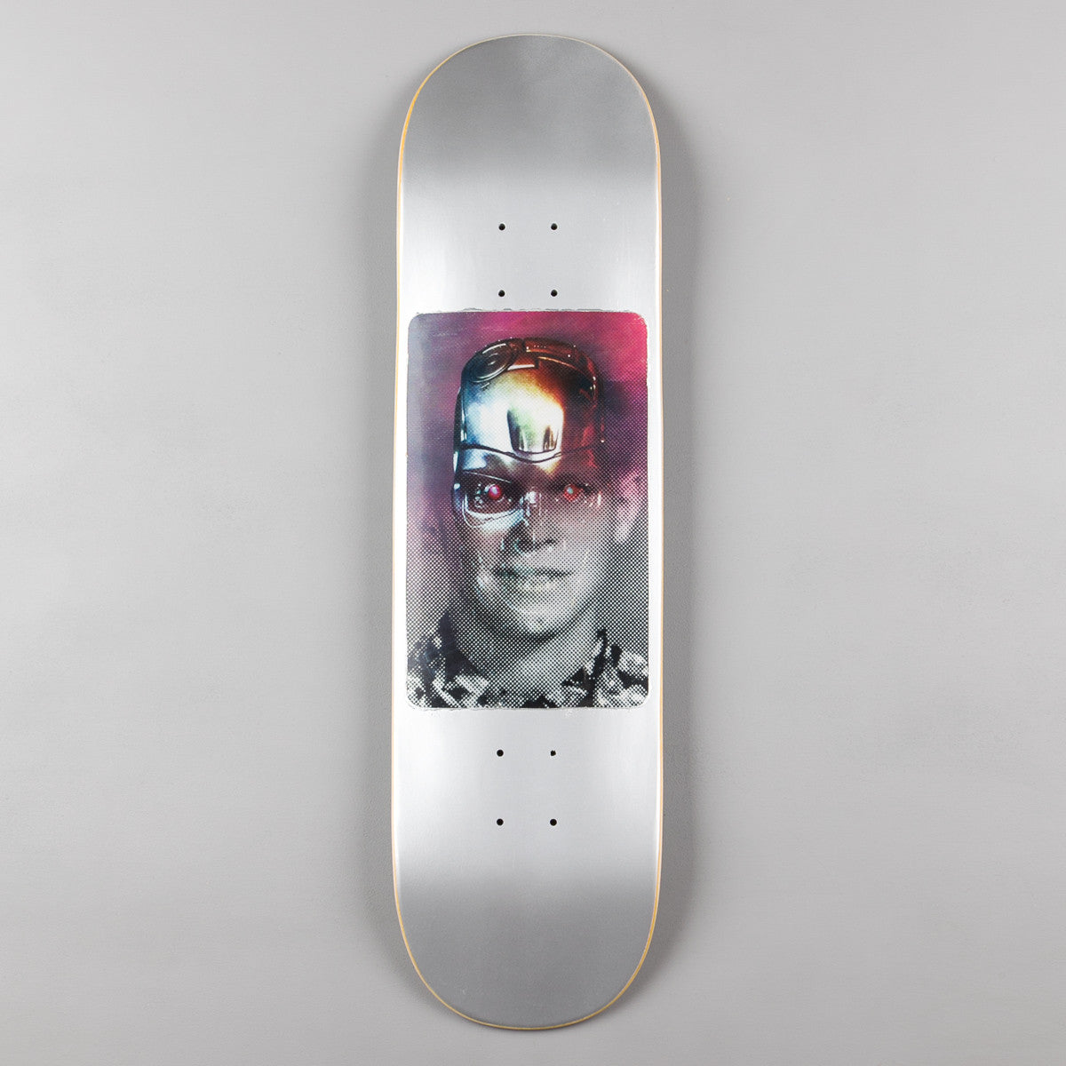 Fucking Awesome AVE Hologram Silver Metallic Deck - 8.18""
