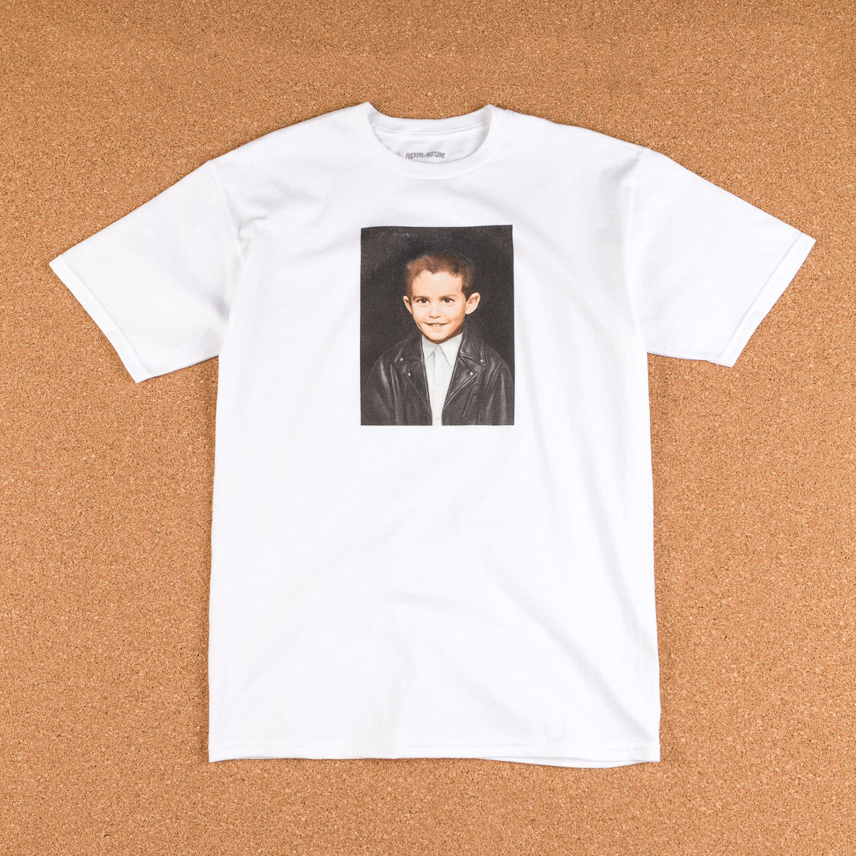 Fucking Awesome Dylan Painting T-Shirt -  White