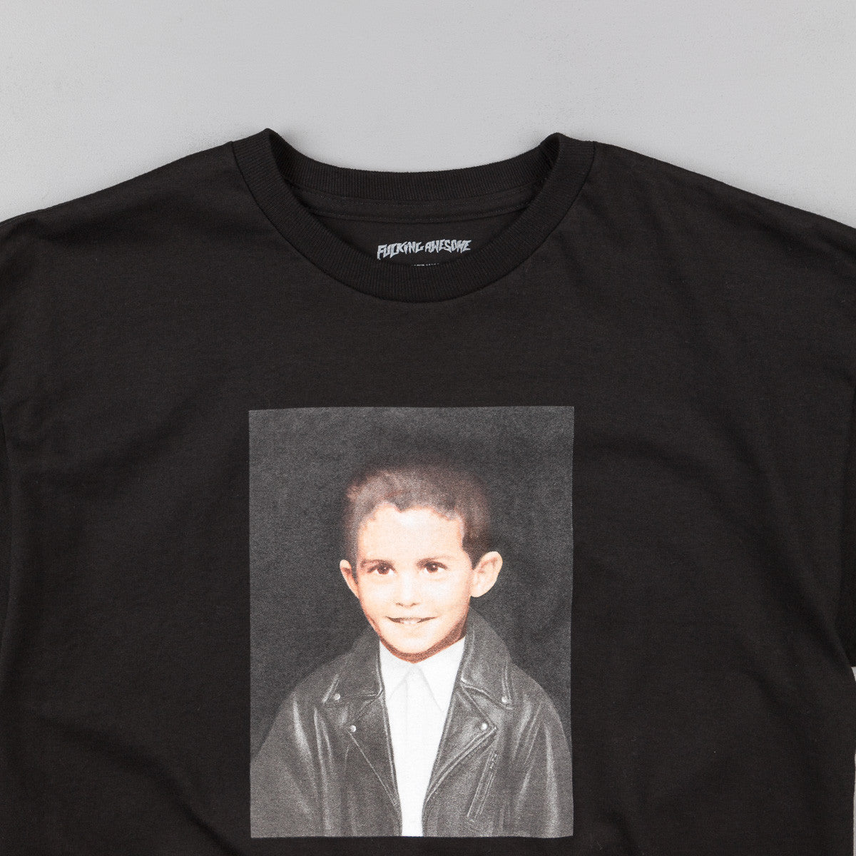 Fucking Awesome Dylan Painting T-Shirt - Black