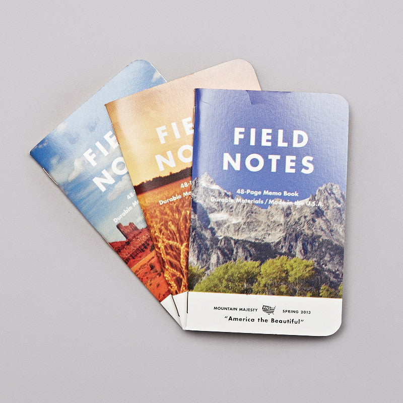 Field Notes America The Beautiful Notebooks