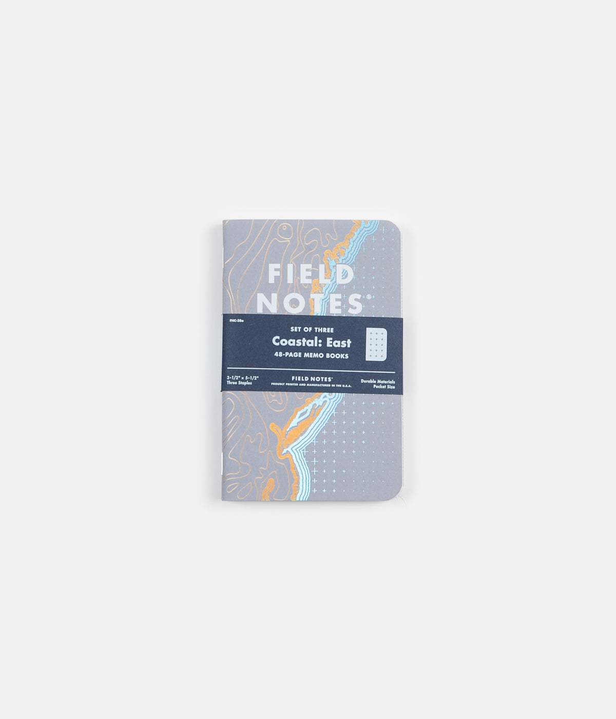 Field Notes Coastal Notebook - East