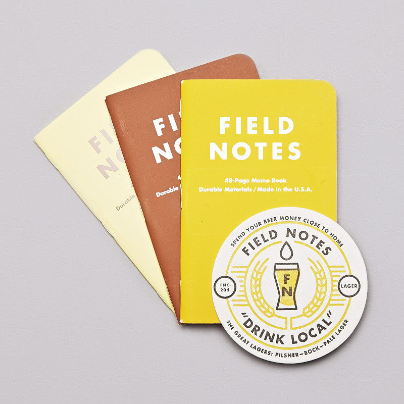 Field Notes Local Larger Notebooks
