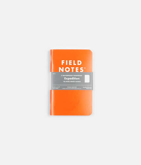 Field Notes Expedition Notebooks