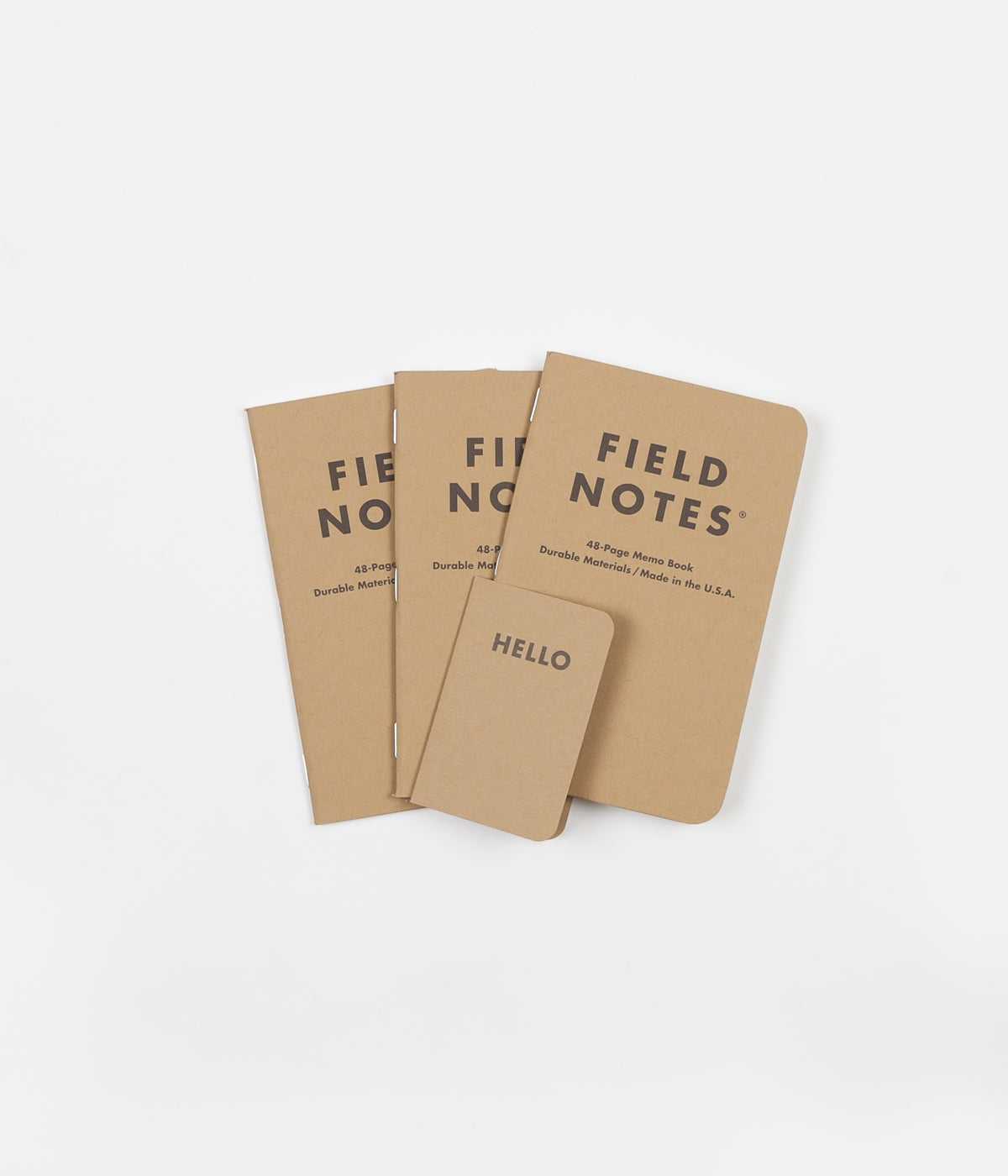 Field Notes Graph Paper Notebooks