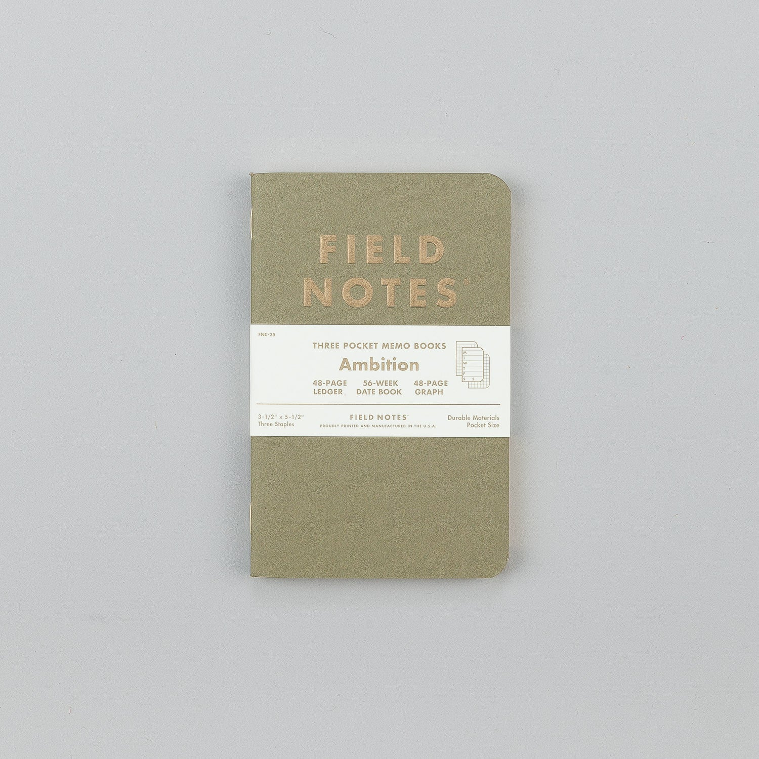 Field Notes Limited Edition Ambition Notebooks