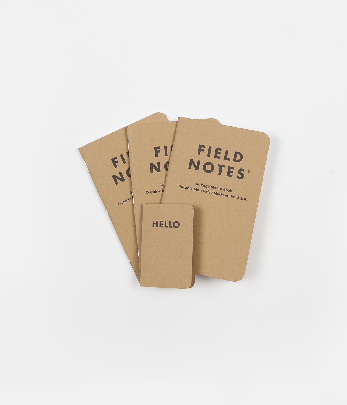 Field Notes Mixed Notebooks
