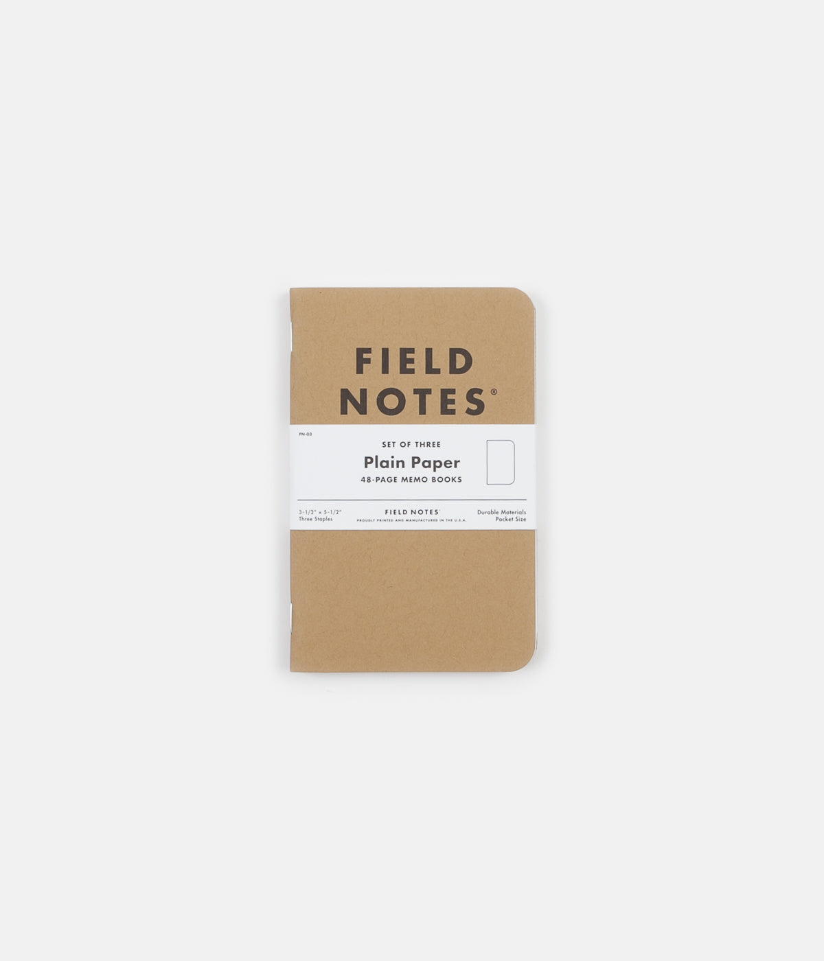 Field Notes Plain Notebooks
