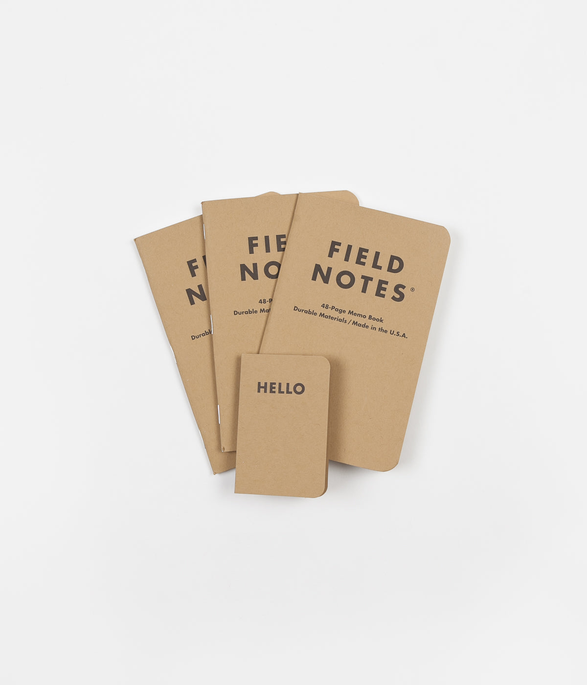 Field Notes Ruled Paper Notebooks