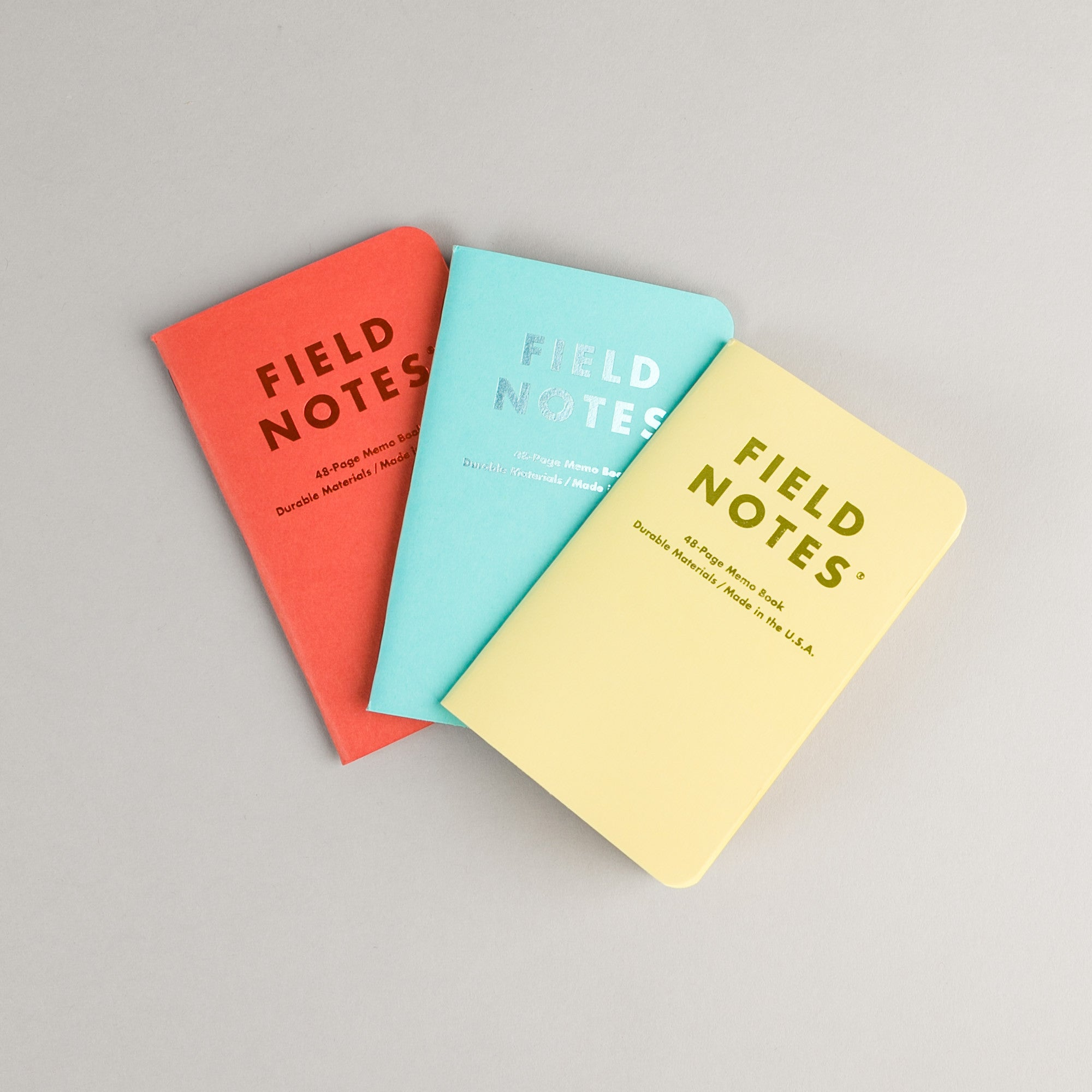 Field Notes Sweet Tooth Notebooks - 3 Pack