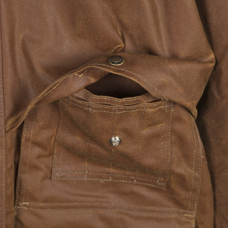 FILSON TIN CLOTH PACKER COAT TAN