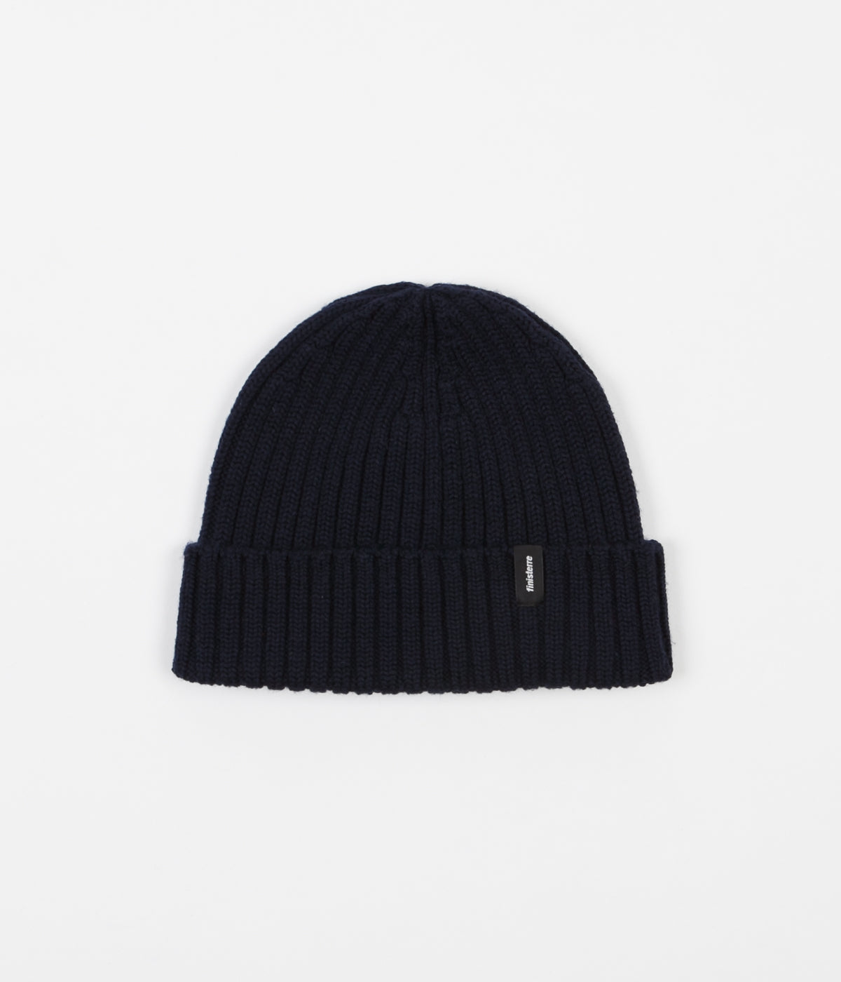 Finisterre Merino Fisherman Beanie - Navy