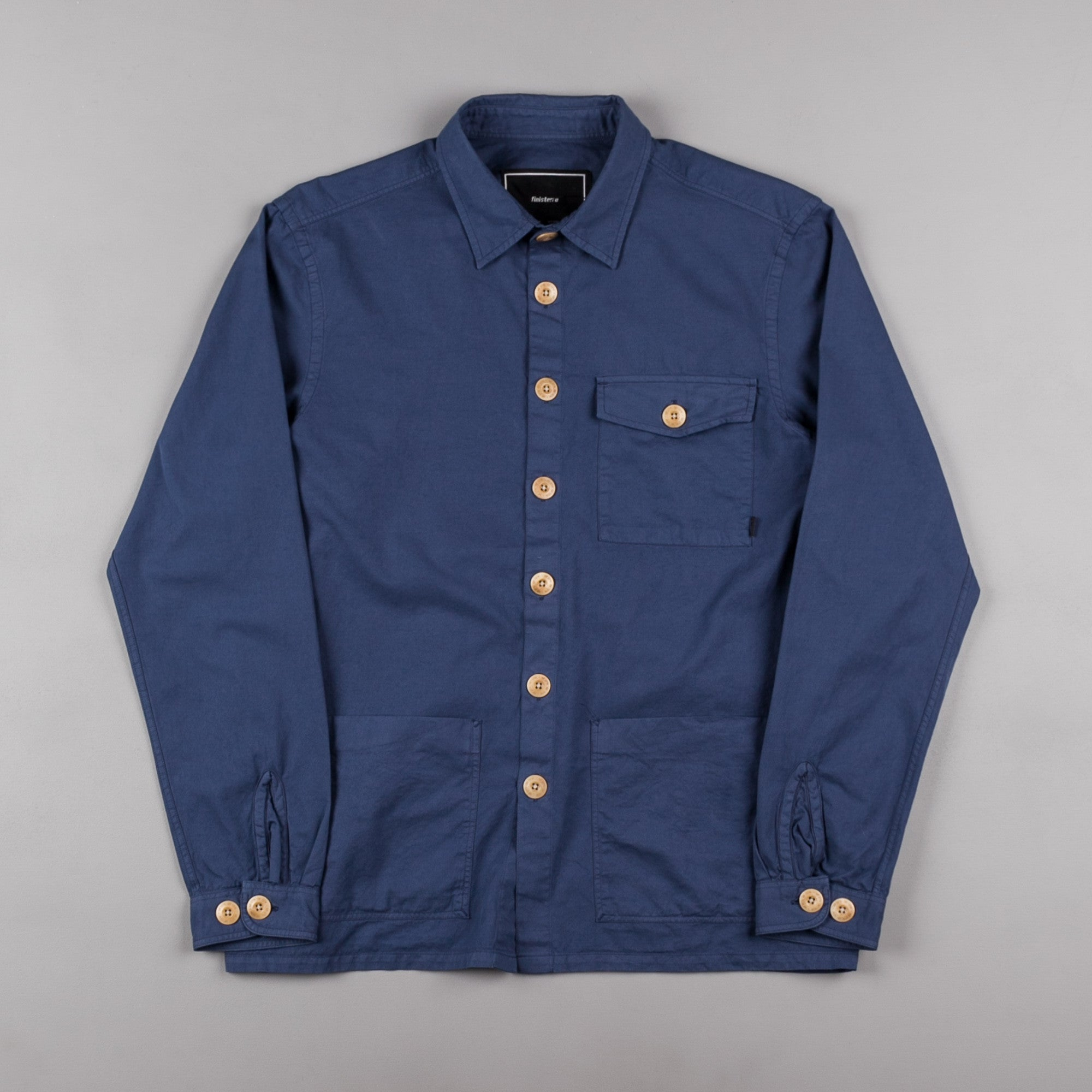 Finisterre Petrichor Shirt - Mariner Blue