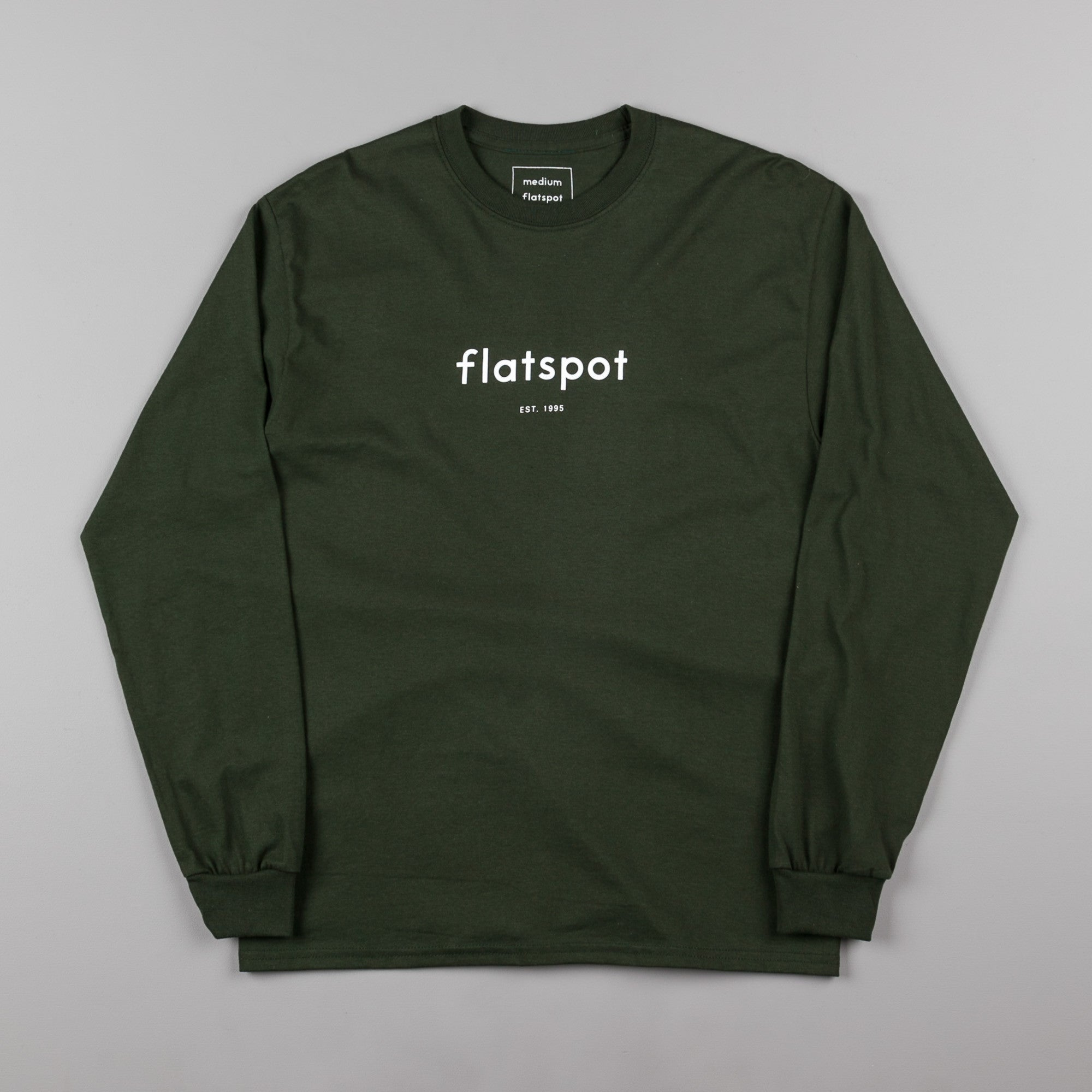 Flatspot 1995 Long Sleeve T-Shirt - Green