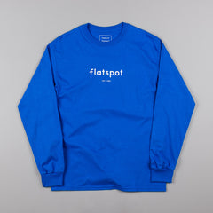 Flatspot 1995 Long Sleeve T-Shirt - Royal Blue