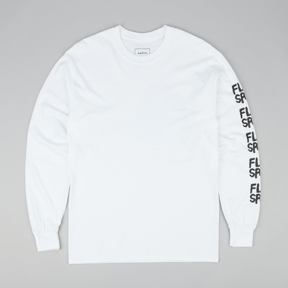Flatspot Curbsniffer Long Sleeve T-Shirt - White