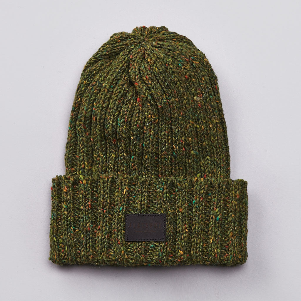 Flatspot AIC Donegal Wool Watchcap Green