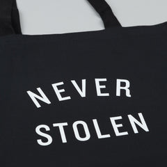 Flatspot Never Stolen Tote Bag Black