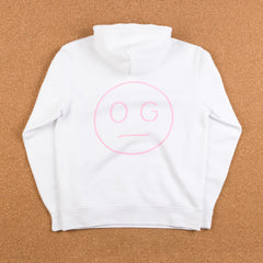 Flatspot OG Hardware Hooded Sweatshirt - White / Pink
