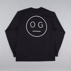 Flatspot OG Hardware Long Sleeve T-Shirt - Black