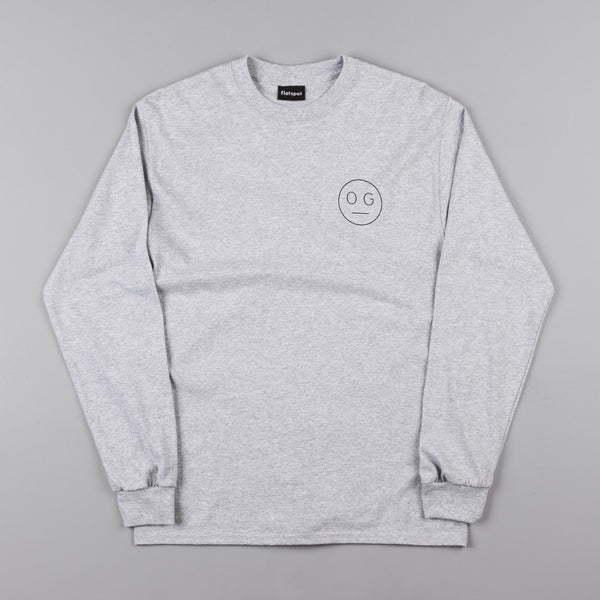 Flatspot OG Hardware Long Sleeve T-Shirt - Heather Grey