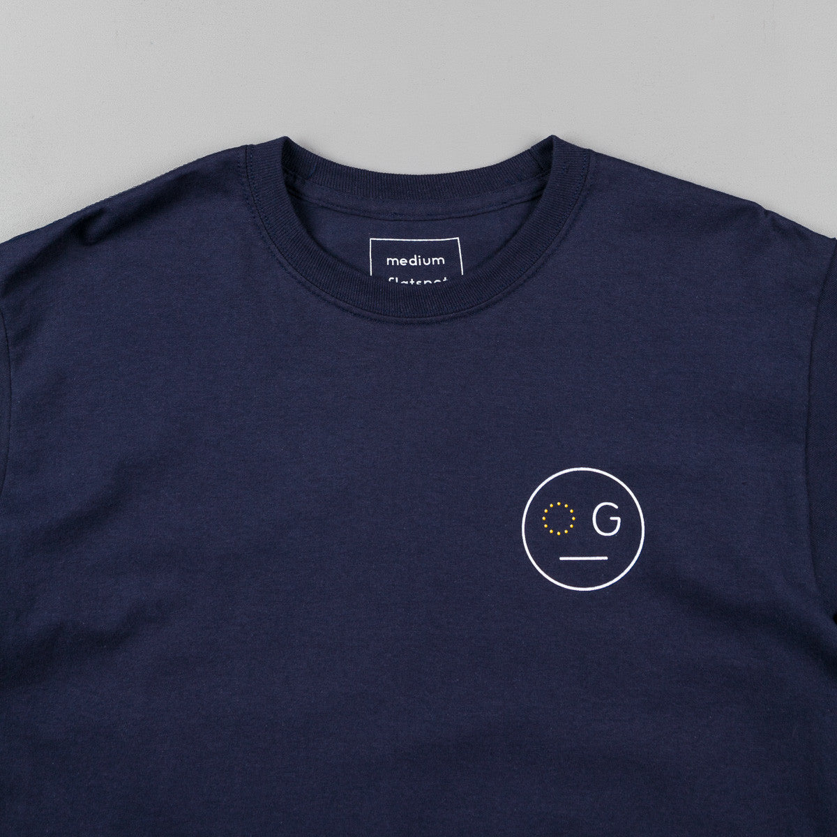 Flatspot OG Hardware OG x EU Long Sleeve T-Shirt - Navy