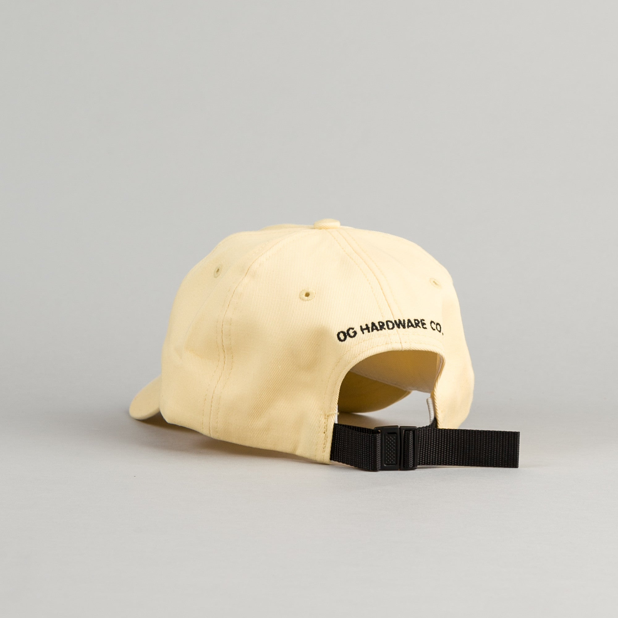 Flatspot OG Hardware Polo Cap - Yellow Maize