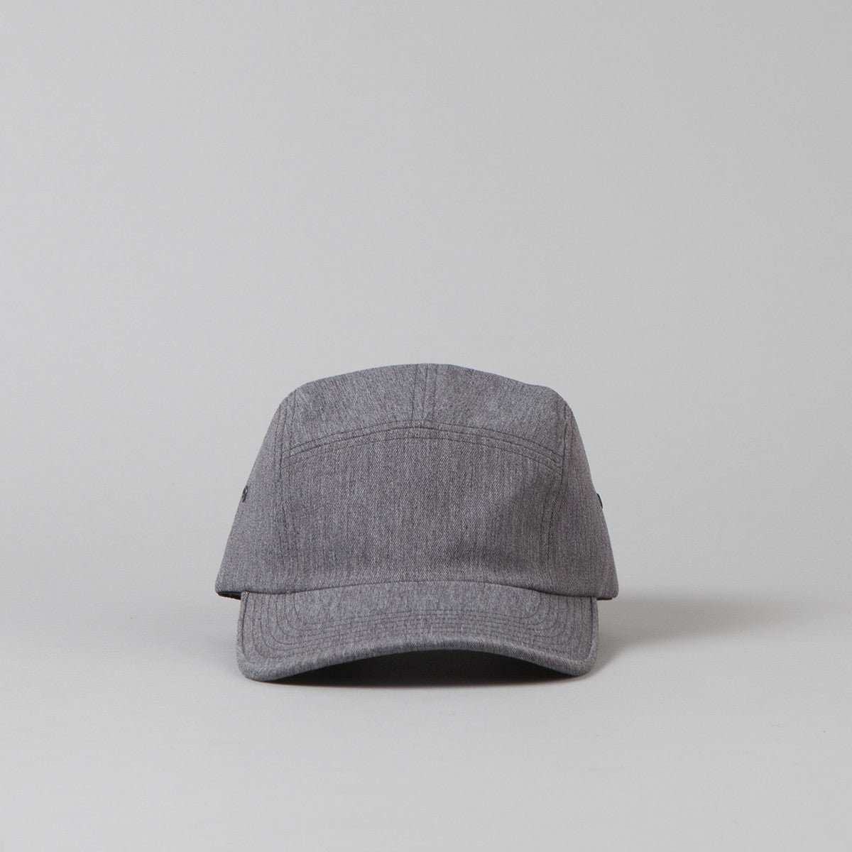 Flatspot Twill Jockey Cap - Heather Grey