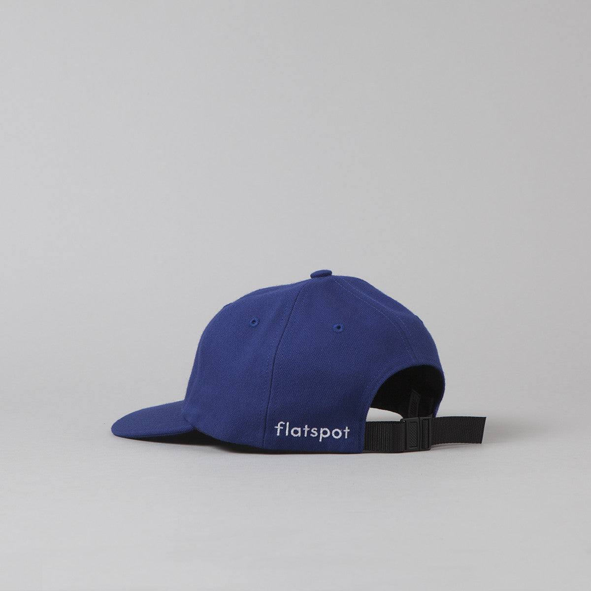 Flatspot Wool Polo Cap - Royal