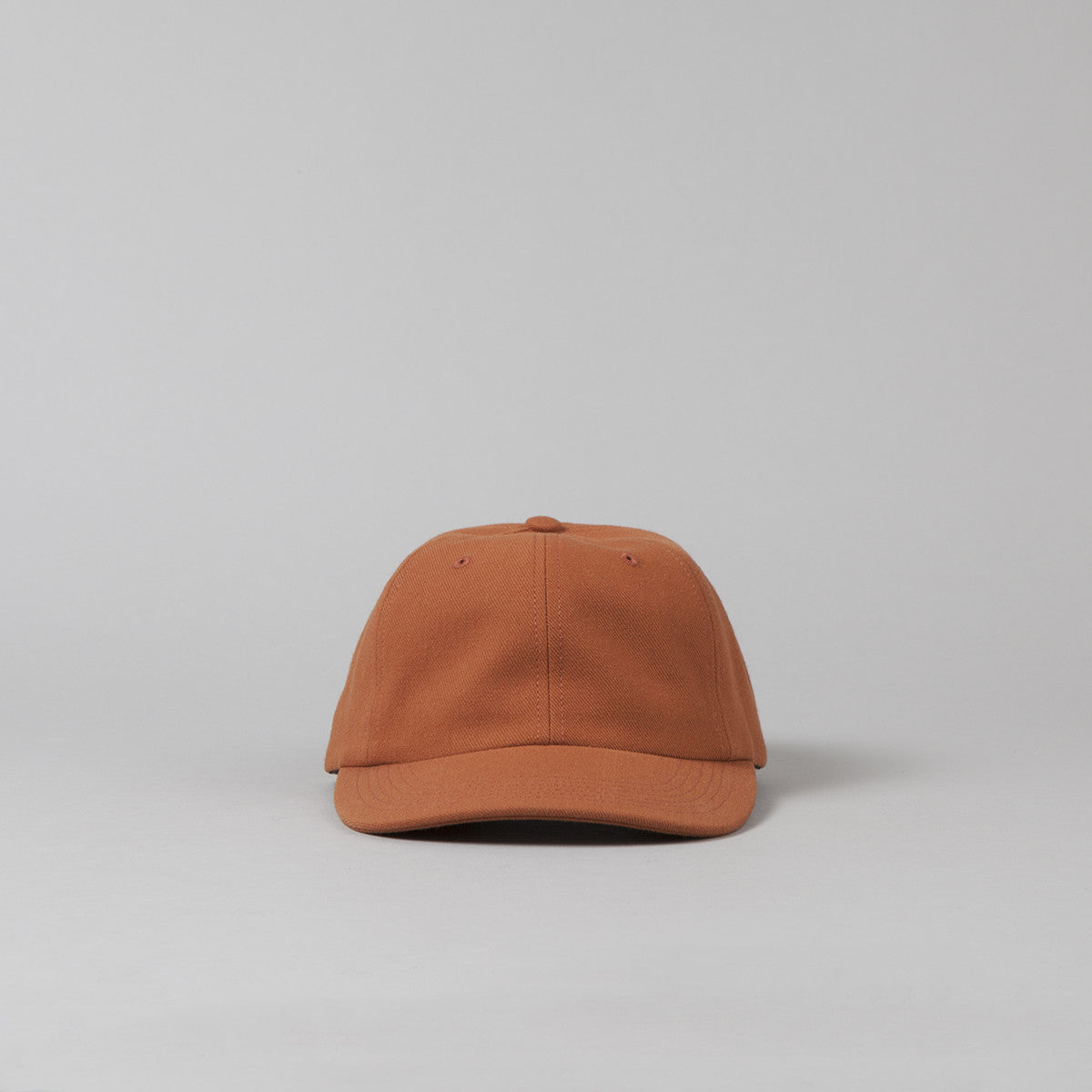 Flatspot Wool Polo Cap - Orange