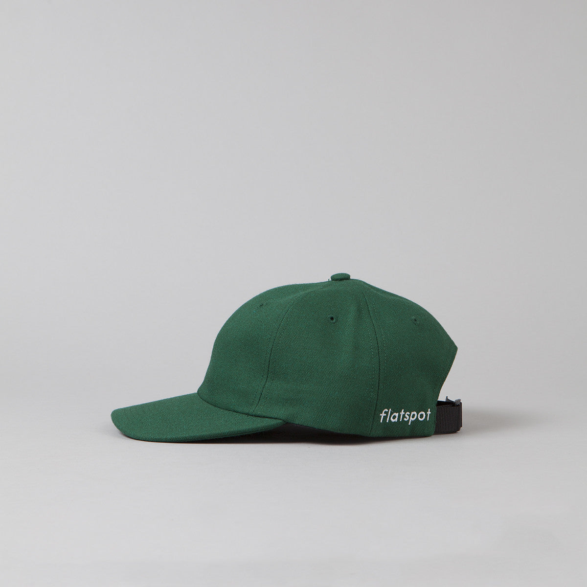 Flatspot Wool Polo Cap - Spruce Green