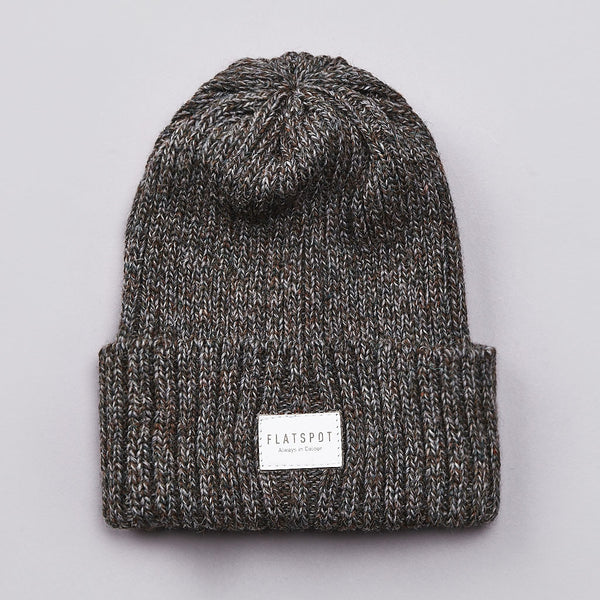 Flatspot AIC Wool Watchcap Derby Tweed