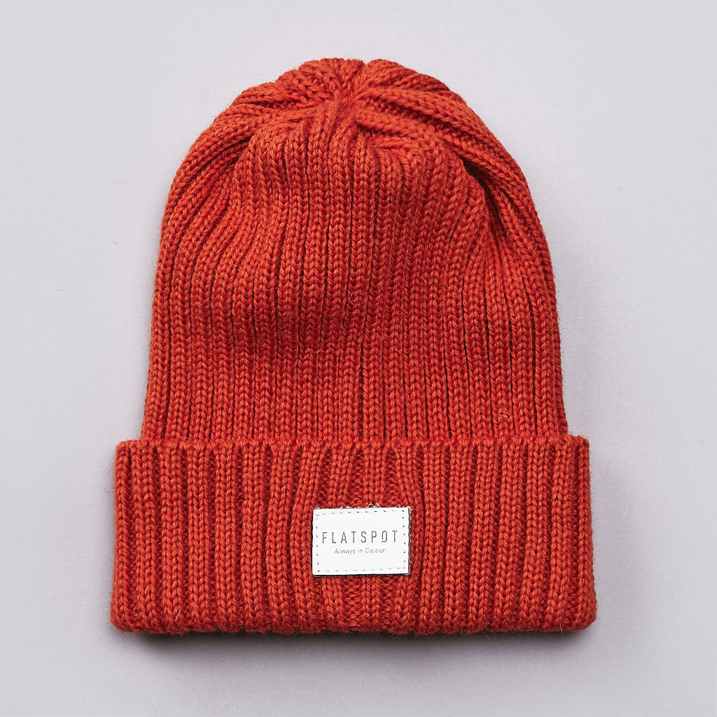 Flatspot AIC Wool Watchcap Orange