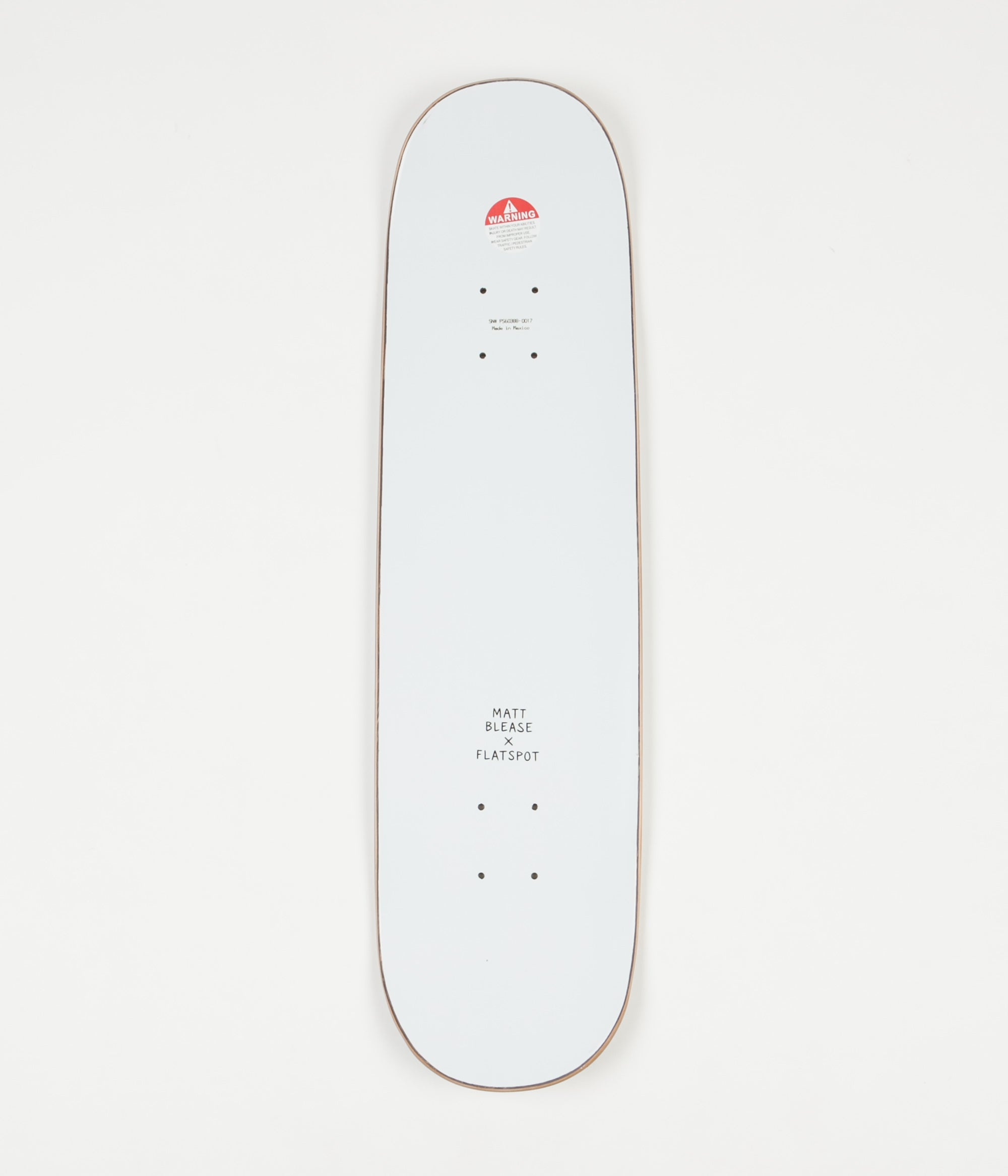 Flatspot x Matt Blease Trucks Deck 8.0""