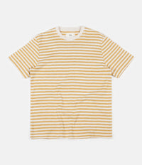 Folk Classic Stripe T-Shirt - Straw Ecru