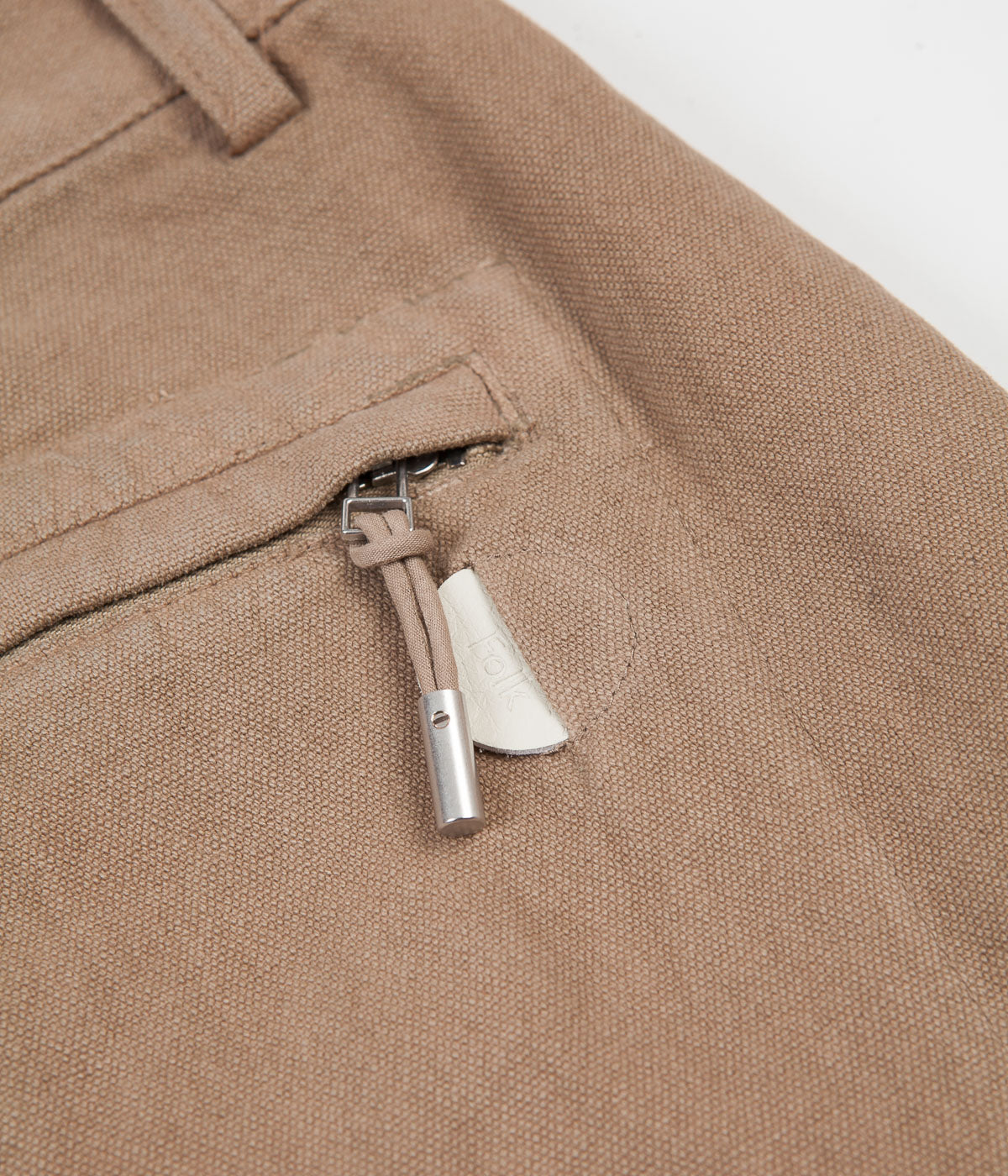 Folk Signal Pants - Oatmeal Canvas
