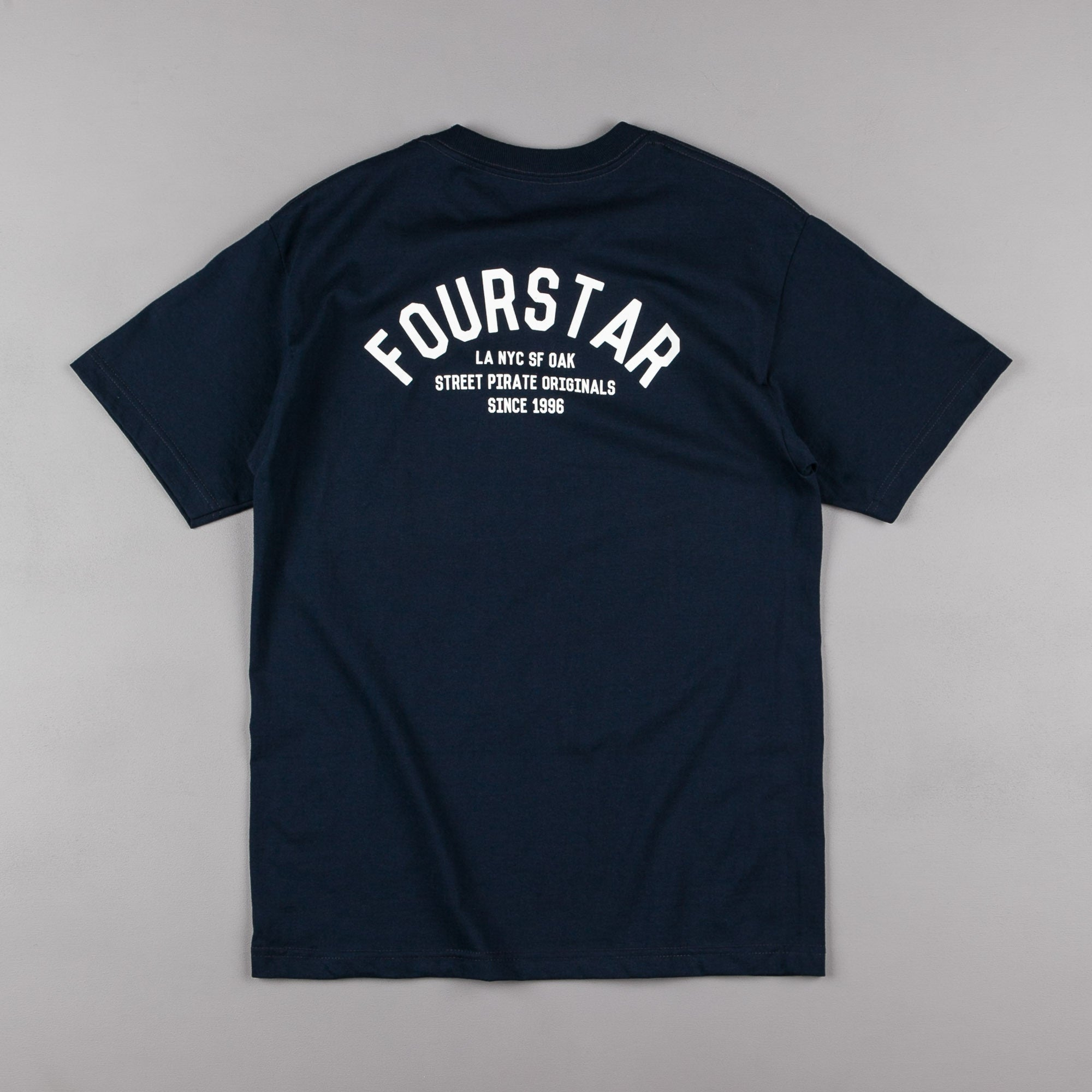 Fourstar Arched Pocket T-Shirt - Navy